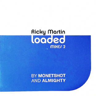 "Ricky Martin ‎- Loaded (Mixes 2) (12"") (Promo) (VG-EX/VG)"